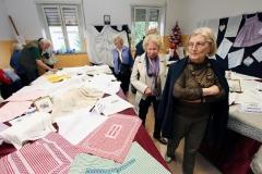 Udine 28-maggio-2014 inaugurata la mostra dei lavori dei soci Ute (università terza età) foto Turco Massimo