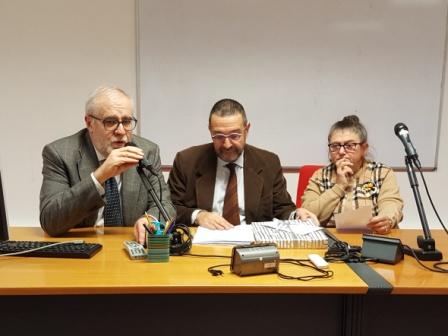 'intervento di ieri all'UTE del prof. Pezzino sul ciclo La guerra di liberazione in Friuli