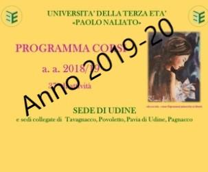 Ricerca corsi Anno 2019-20